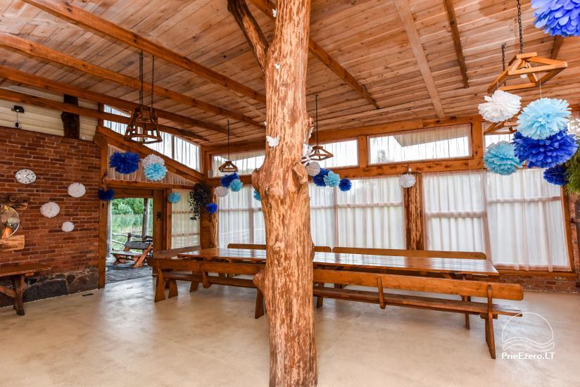 Villas, sauna, zāles noma 10 km no Klaipēdas, netālu minizoo, Jonušai - 21