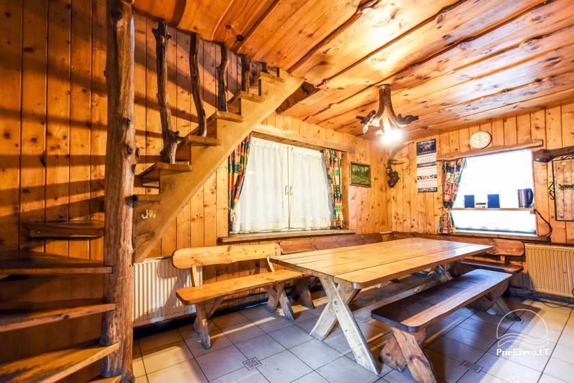 Villas, sauna, zāles noma 10 km no Klaipēdas, netālu minizoo, Jonušai - 24