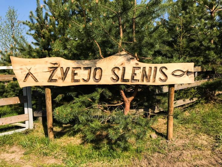 Zvejnieku ieleja - lauku viensēta pie Galuonas ezera Lietuvā - 1