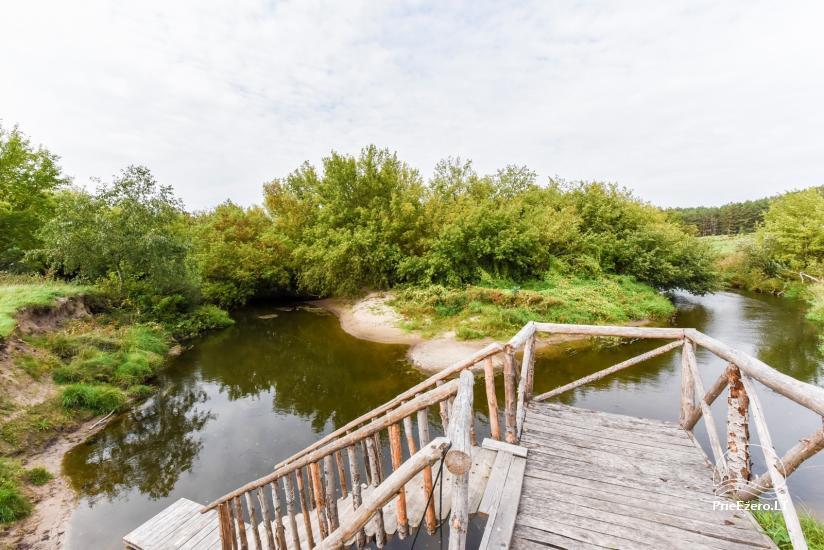 Lauku sēta pie upes Dubysa krasta, Lietuvā - 42