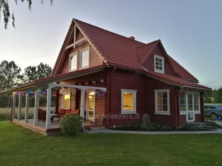 Lauku sēta Atpakaļ pie dabas reģionālā parkā Lietuvā - 1