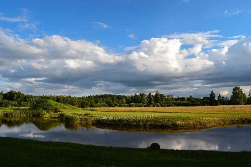 Lauku sēta Atpakaļ pie dabas reģionālā parkā Lietuvā - 3
