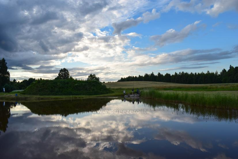 Lauku sēta Atpakaļ pie dabas reģionālā parkā Lietuvā - 4