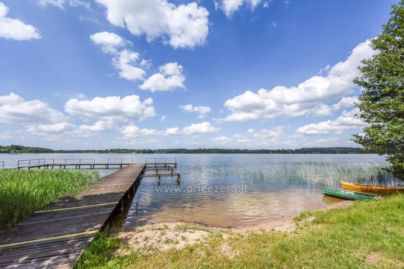 Ģimenes brīvdienu māja pie ezera Moletai rajonā, Lietuvā - 14