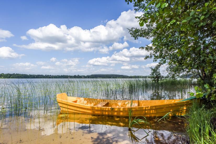 Ģimenes brīvdienu māja pie ezera Moletai rajonā, Lietuvā - 13