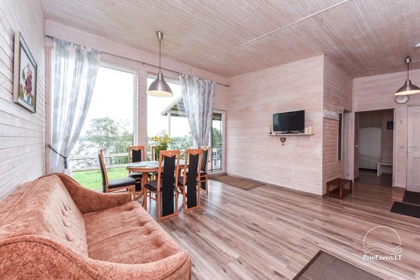 Ģimenes brīvdienu māja pie ezera Moletai rajonā, Lietuvā - 4