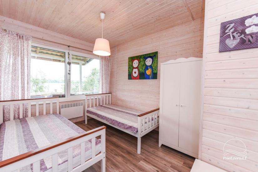 Ģimenes brīvdienu māja pie ezera Moletai rajonā, Lietuvā - 10