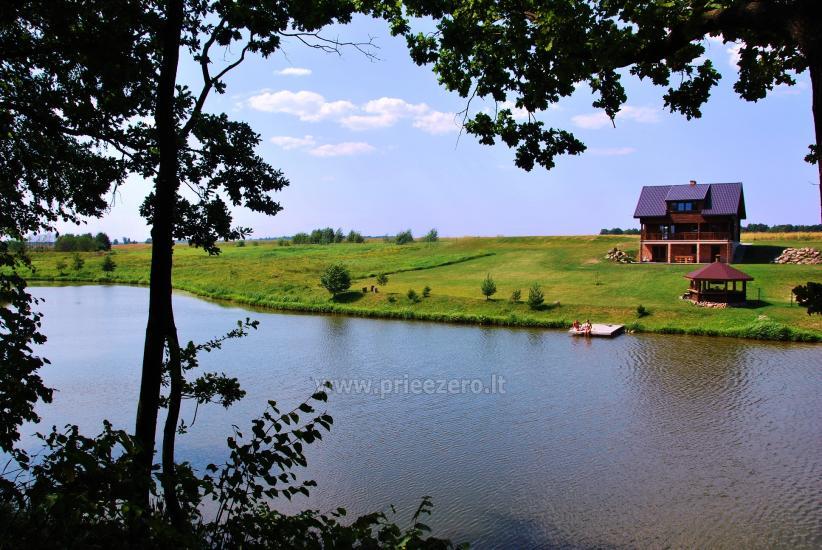 Lauku tūrisma sēta pie upes un ezera - 1