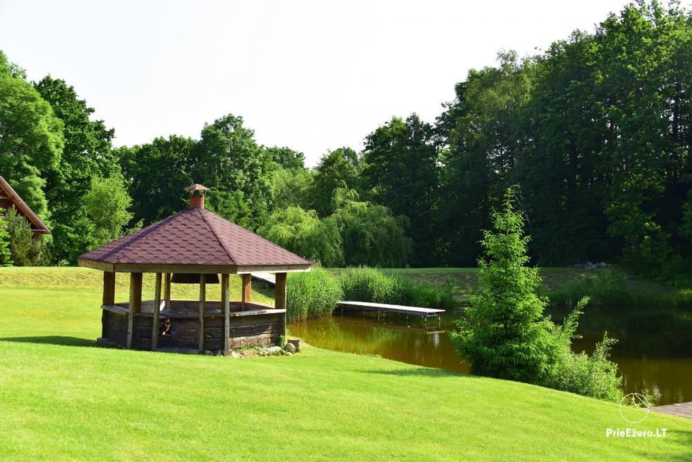 Lauku tūrisma sēta pie upes un ezera - 7