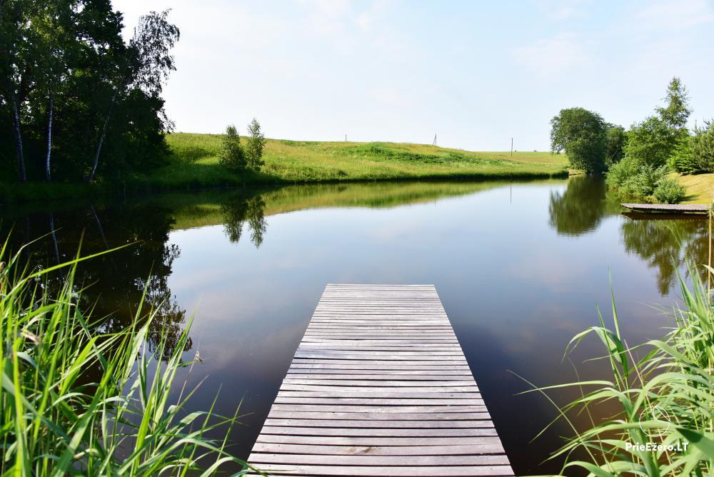 Lauku tūrisma sēta pie upes un ezera - 20