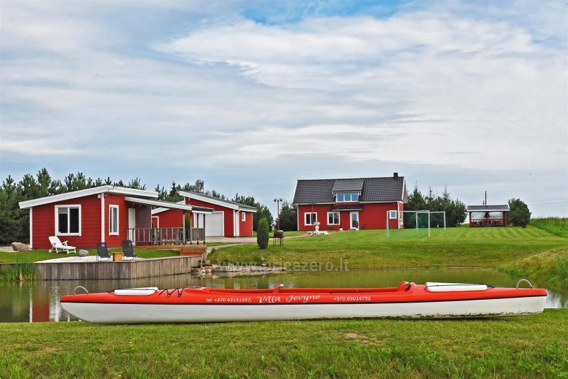 Lauku sēta pie ezera Vilkaviskio reģionā, Lietuvā - 3