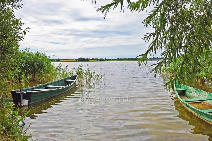 Lauku sēta pie ezera Vilkaviskio reģionā, Lietuvā - 58