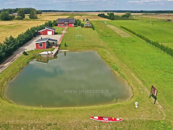 Lauku sēta pie ezera Vilkaviskio reģionā, Lietuvā - 9