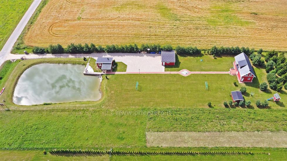 Lauku sēta pie ezera Vilkaviskio reģionā, Lietuvā - 10