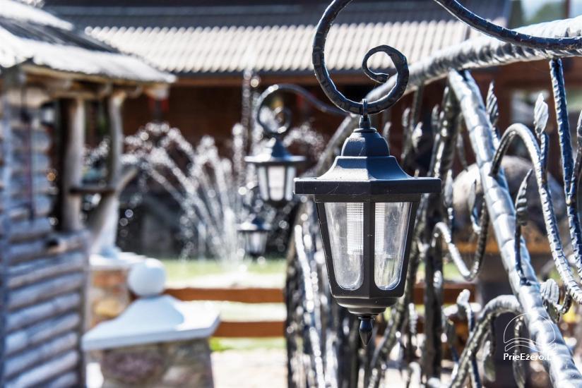 Lauku tūrisma sēta atrodas ienirt reģionā, Lietuvā - 76