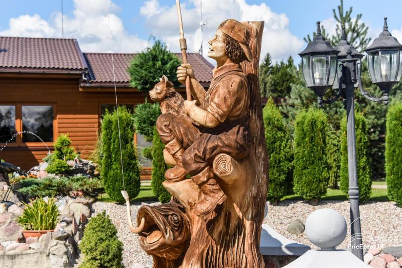 Lauku tūrisma sēta atrodas ienirt reģionā, Lietuvā - 65