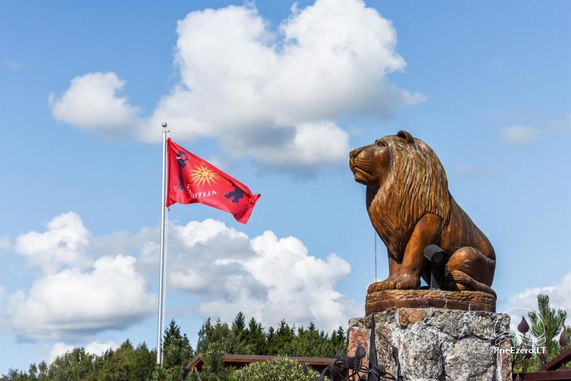 Lauku tūrisma sēta atrodas ienirt reģionā, Lietuvā - 68