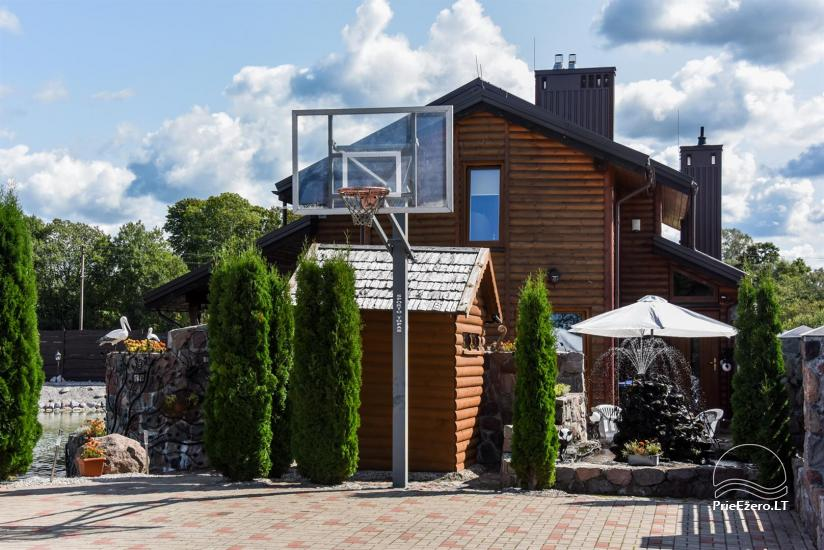 Lauku tūrisma sēta atrodas ienirt reģionā, Lietuvā - 57
