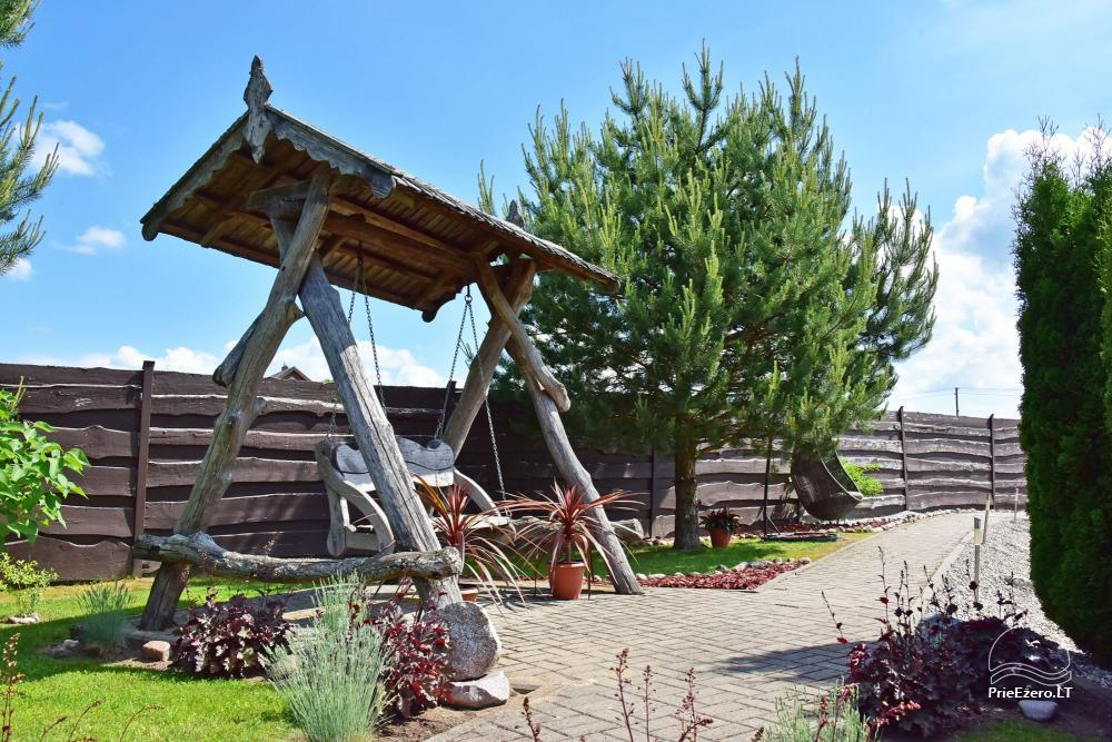 Lauku tūrisma sēta atrodas ienirt reģionā, Lietuvā - 55
