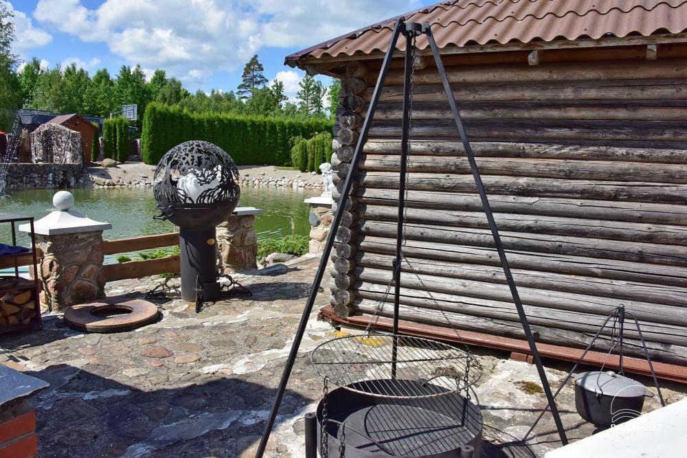 Lauku tūrisma sēta atrodas ienirt reģionā, Lietuvā - 49