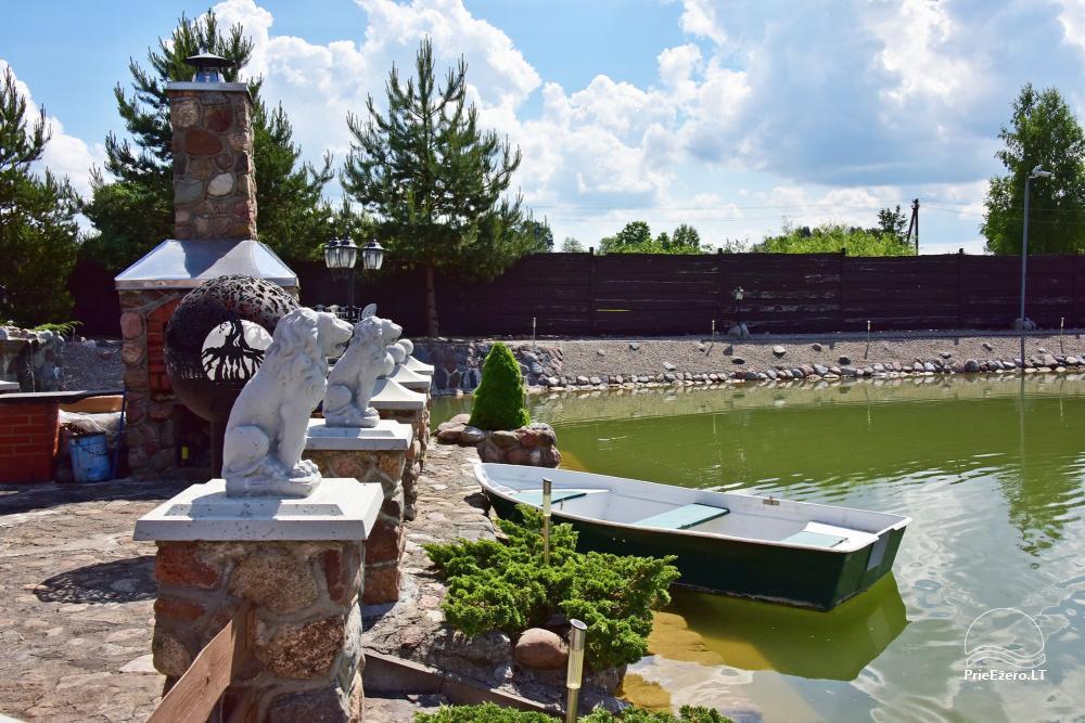 Lauku tūrisma sēta atrodas ienirt reģionā, Lietuvā - 50