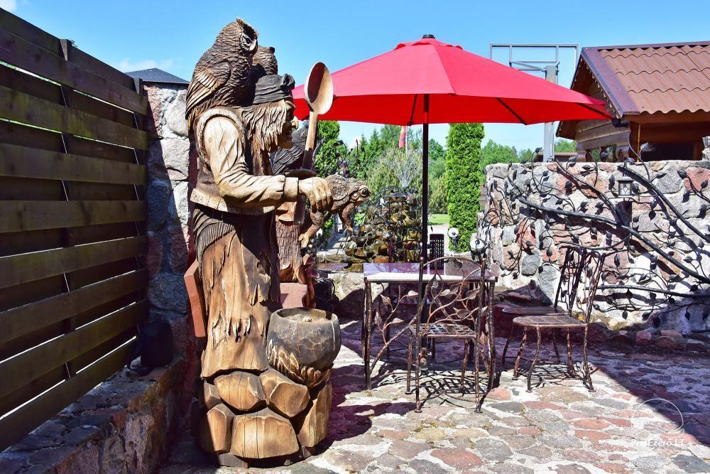 Lauku tūrisma sēta atrodas ienirt reģionā, Lietuvā - 56