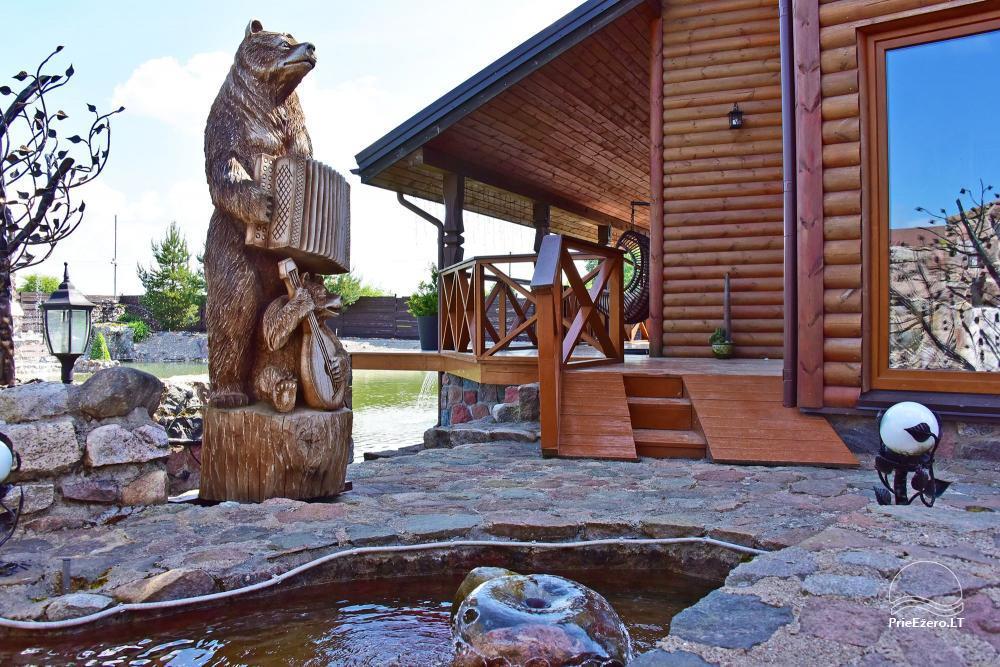 Lauku tūrisma sēta atrodas ienirt reģionā, Lietuvā - 66