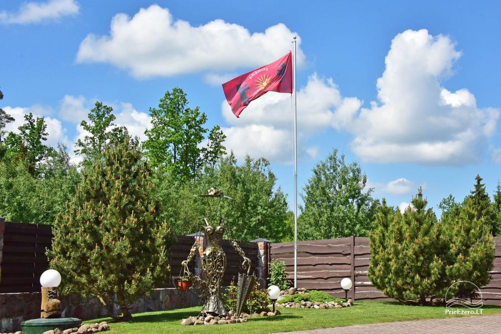 Lauku tūrisma sēta atrodas ienirt reģionā, Lietuvā - 62