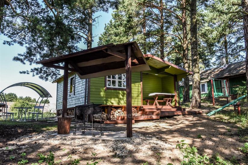 Brīvdienu mājas pie ezera Arino Lietuvā, Molētu rajonā - 1