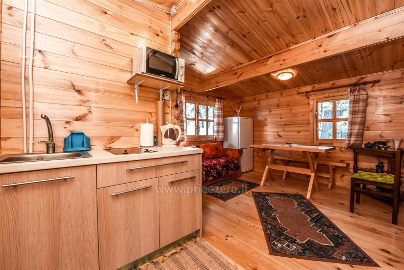 Brīvdienu mājas pie ezera Arino Lietuvā, Molētu rajonā - 6