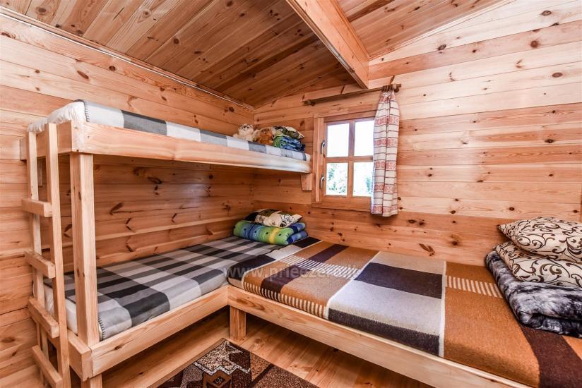 Brīvdienu mājas pie ezera Arino Lietuvā, Molētu rajonā - 7