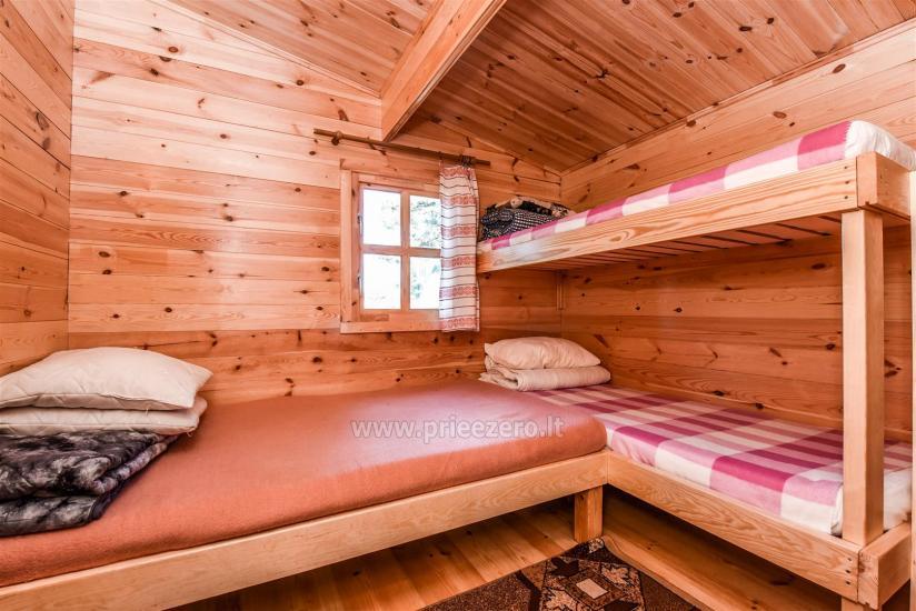 Brīvdienu mājas pie ezera Arino Lietuvā, Molētu rajonā - 8