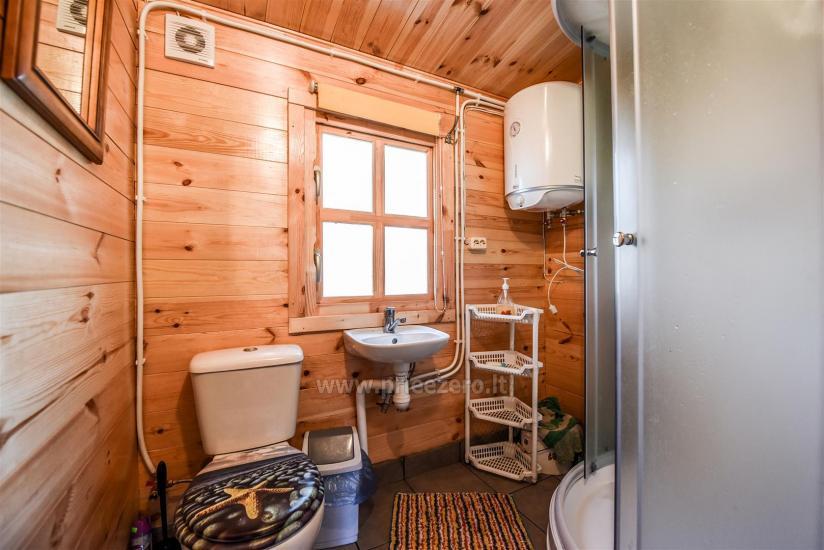 Brīvdienu mājas pie ezera Arino Lietuvā, Molētu rajonā - 9