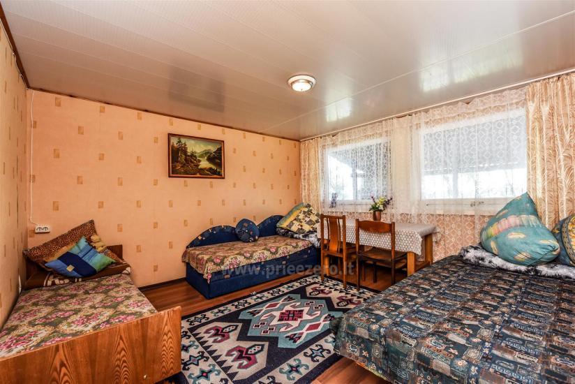 Brīvdienu mājas pie ezera Arino Lietuvā, Molētu rajonā - 12