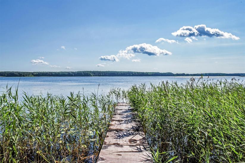 Brīvdienu mājas pie ezera Arino Lietuvā, Molētu rajonā - 14