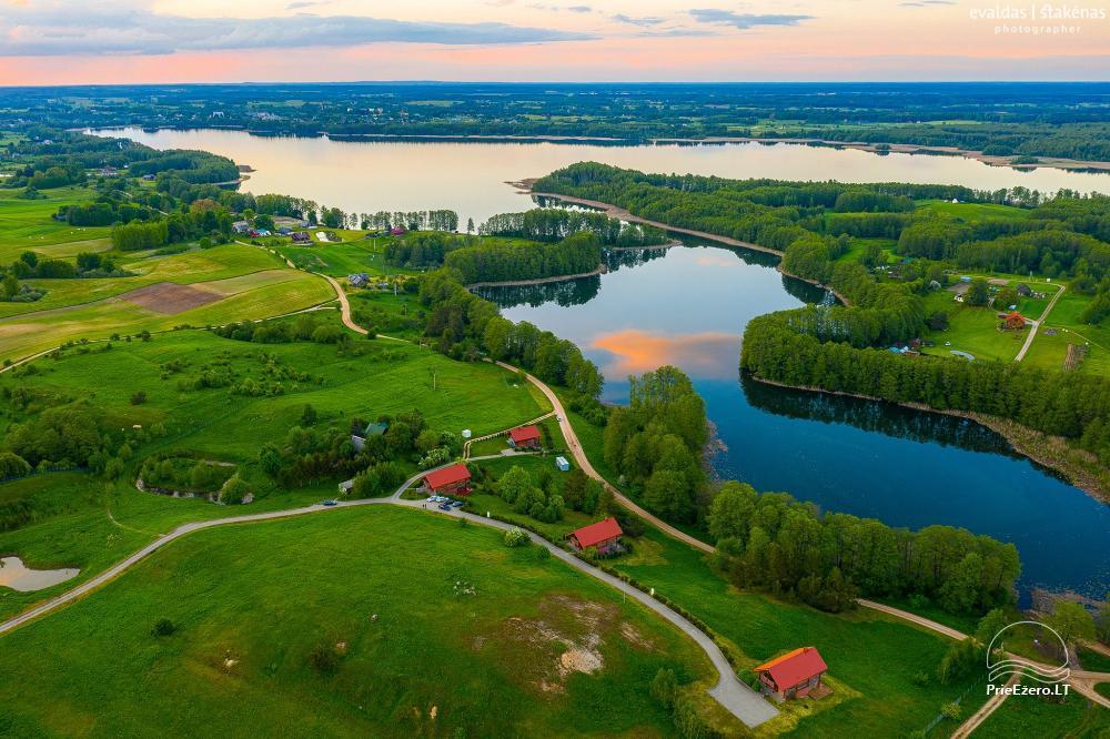 Mazie brīvdienu mājas īre pie Daugai ezera Lietuvā, Alytus r. - 1