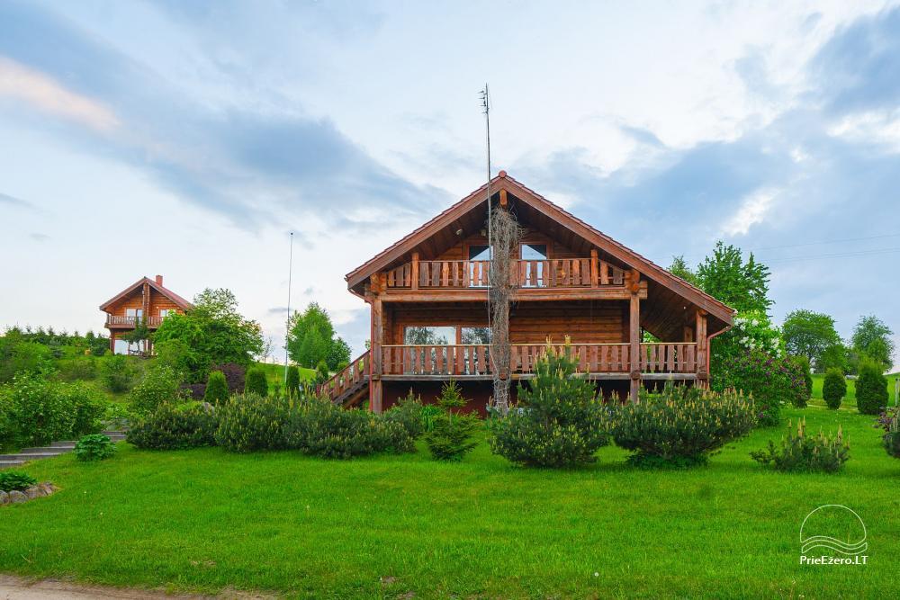 Mazie brīvdienu mājas īre pie Daugai ezera Lietuvā, Alytus r. - 7
