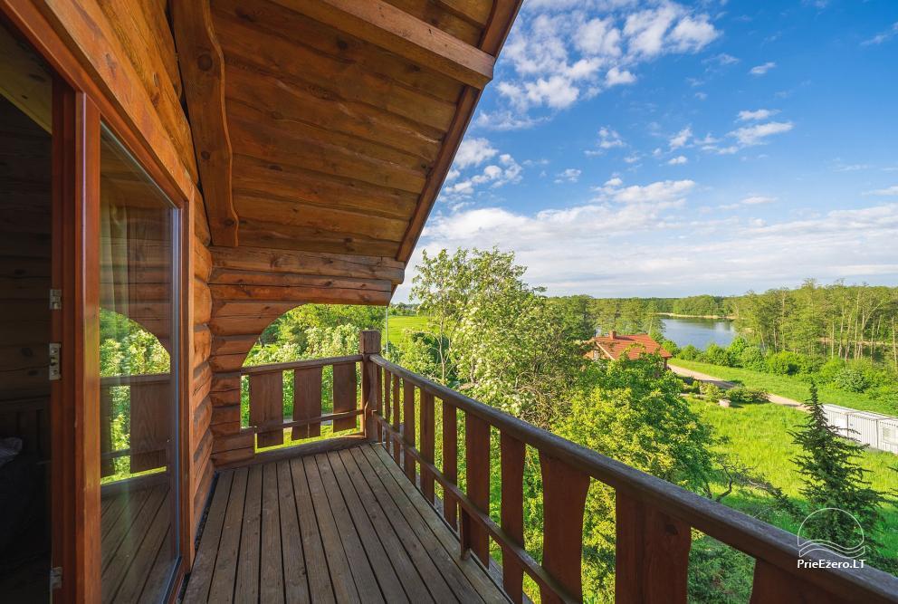 Mazie brīvdienu mājas īre pie Daugai ezera Lietuvā, Alytus r. - 19