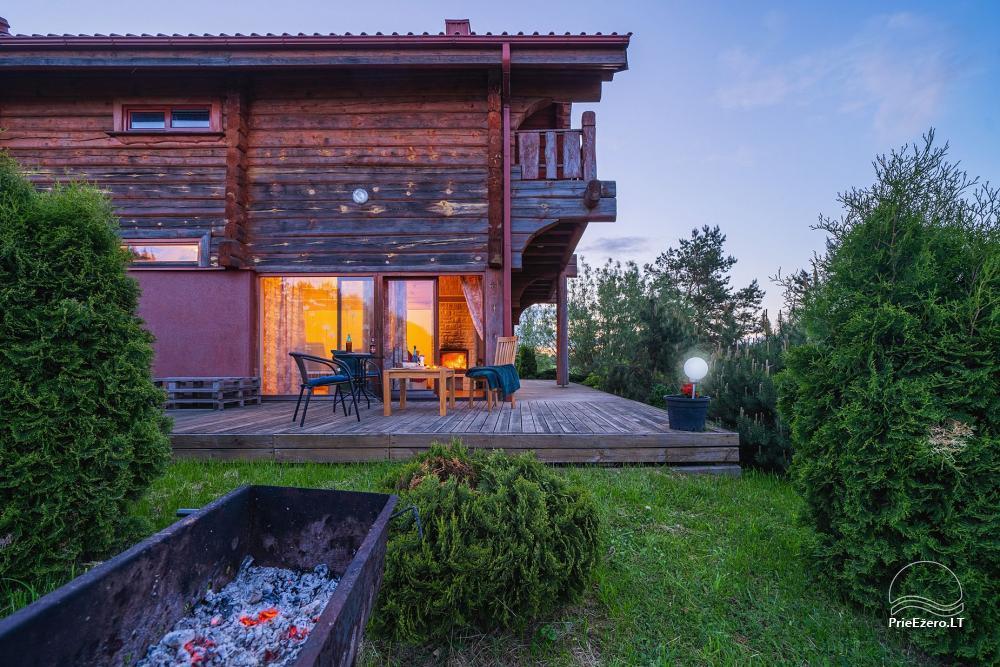 Mazie brīvdienu mājas īre pie Daugai ezera Lietuvā, Alytus r. - 21