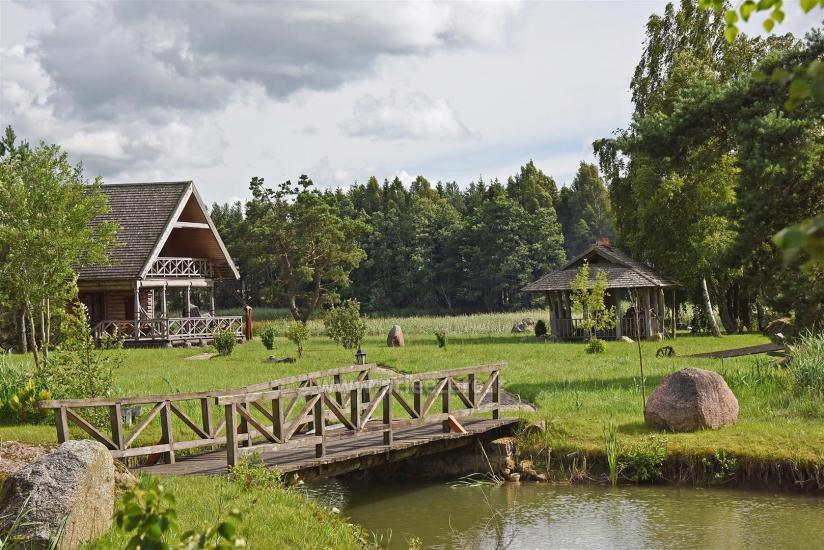 Lauku sēta Vilaite ezera Lietuvā - 3
