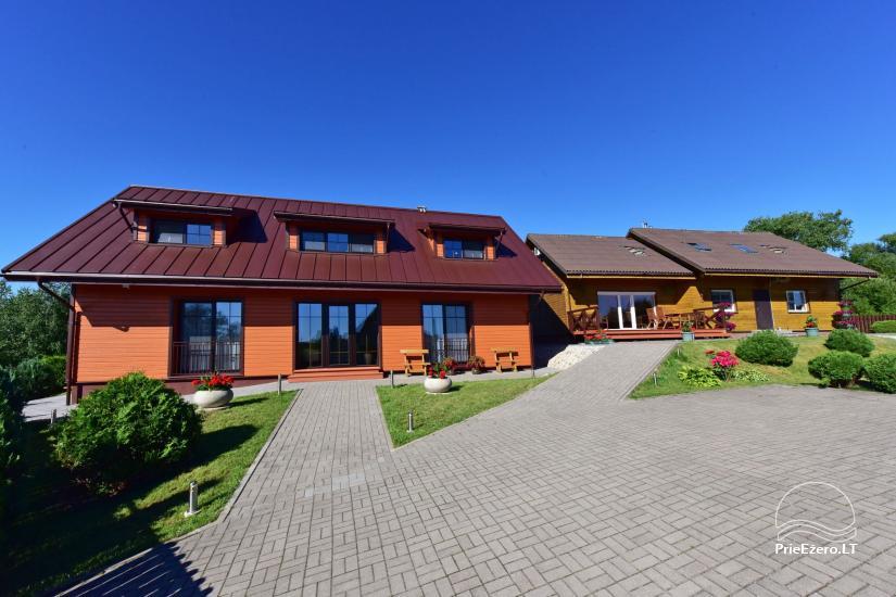 Viesu māja Trakai PANORAMA - numuri, apartamenti, pirts, pagalms ar skatu uz Traķu pili - 14