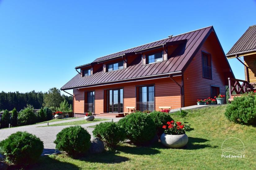 Viesu māja Trakai PANORAMA - numuri, apartamenti, pirts, pagalms ar skatu uz Traķu pili - 1