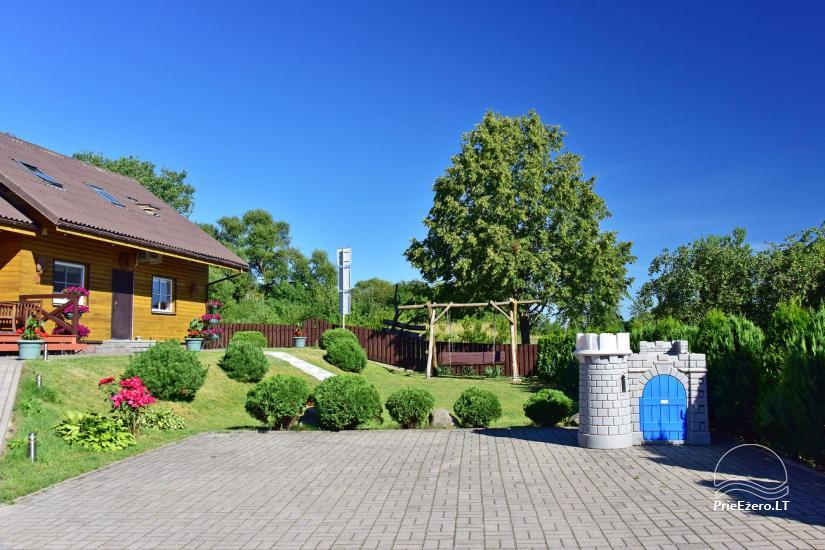 Viesu māja Trakai PANORAMA - numuri, apartamenti, pirts, pagalms ar skatu uz Traķu pili - 3