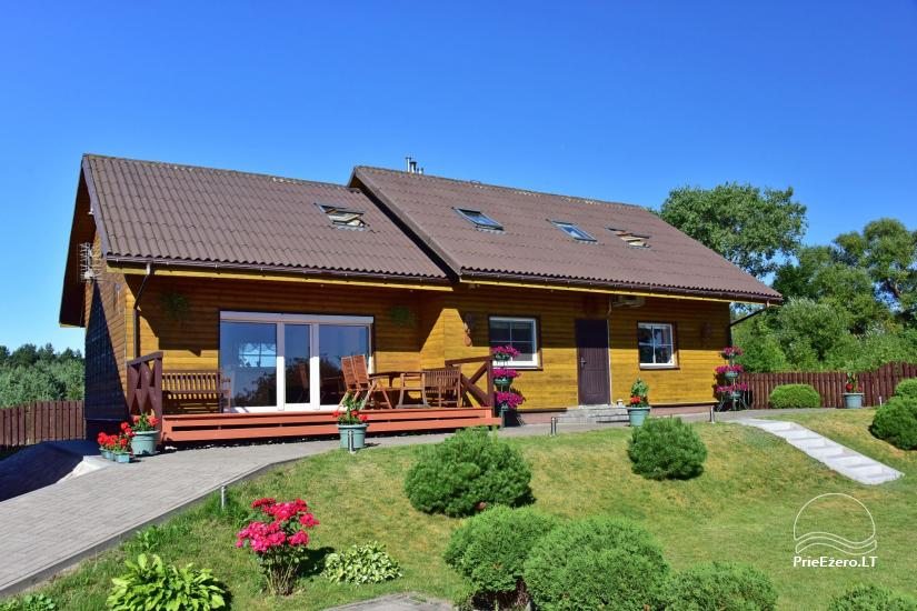 Viesu māja Trakai PANORAMA - numuri, apartamenti, pirts, pagalms ar skatu uz Traķu pili - 2