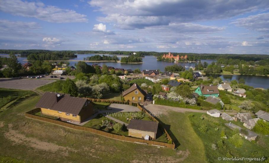 Viesu māja Trakai PANORAMA - numuri, apartamenti, pirts, pagalms ar skatu uz Traķu pili - 17