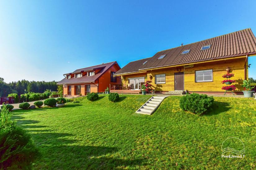 Viesu māja Trakai PANORAMA - numuri, apartamenti, pirts, pagalms ar skatu uz Traķu pili - 15