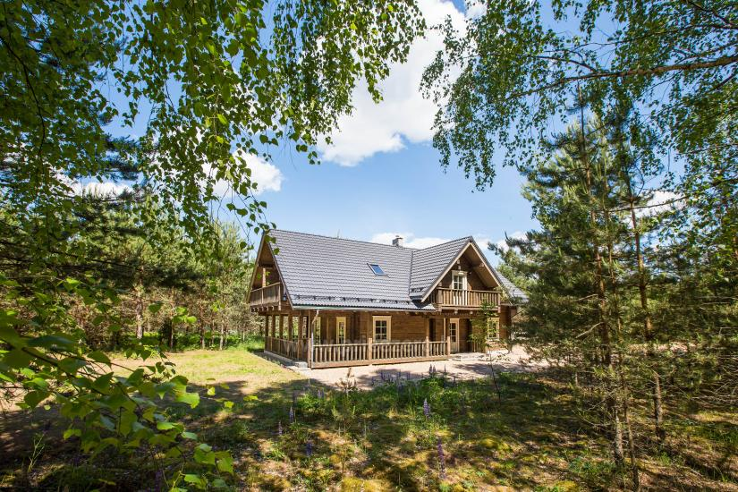 Lauku sēta Meira pie ezera Ignalinas rajonā, Lietuvā - 1
