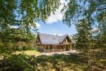 Lauku sēta Meira pie ezera Ignalinas rajonā, Lietuvā