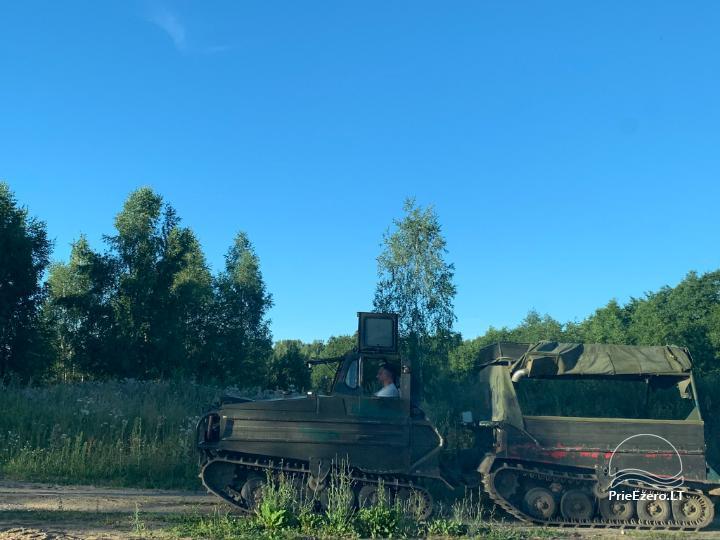 Zelta briežu ieleja ar pirti un kempings Utenas rajonā, Lietuvā - 22