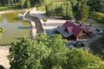 Zelta briežu ieleja ar pirti un kempings Utenas rajonā, Lietuvā - 2